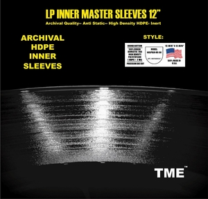 Inner Master Sleeves Round Bottom HDPE USA Made 50 Pack by TME!
