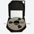 "ATR 10907TCB 1"" X 2500' Open Reel Master Tape"