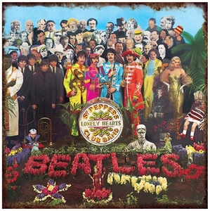 Beatles Sgt Pepper Metal Wall Tin (Sign)