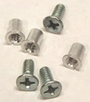 "Hardware Set for 1/4"" NAB by TME� Three Screw Metal Reels"
