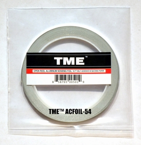 "TME­™ Real Foil Sensing Tape Self Adhesive .20"" X 54' Roll UPC# 858765005019"