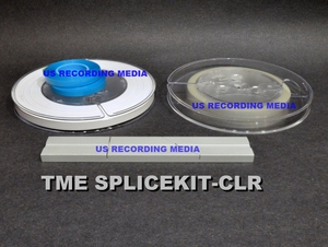 Splicing Kit with Clear Sensing Tape, White Leader. Splicing Block, and Splicing Tape by TME™