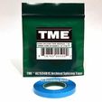 """TME™ True Studio/Archival Splicing Tape AC1S94B1C for 1/4"""" Recording Tape 82' Poly Pack©"""