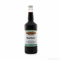Black Cherry Shaved Ice and Snow Cone Syrup - Quart