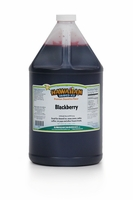 Blackberry Shaved Ice and Snow Cone Syrup - Gallon