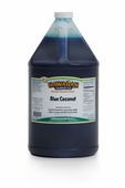 Blue Coconut Shaved Ice and Snow Cone Syrup - Gallon