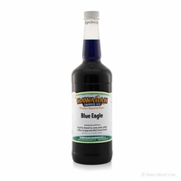 Blue Eagle Shaved Ice and Snow Cone Syrup - Quart