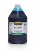 Blue Raspberry Shaved Ice and Snow Cone Syrup - Gallon