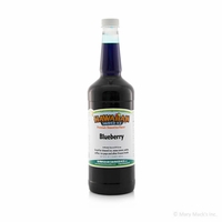 Blueberry Shaved Ice and Snow Cone Syrup - Quart