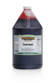 Candy Apple Shaved Ice and Snow Cone Syrup - Gallon
