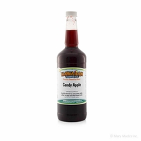 Candy Apple Shaved Ice and Snow Cone Syrup - Quart