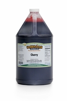Cherry Shaved Ice and Snow Cone Syrup - Gallon