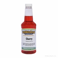 Cherry Shaved Ice and Snow Cone Syrup - Pint