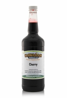 Cherry Shaved Ice and Snow Cone Syrup - Quart
