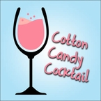 Chic Champagne Cotton Candy Cocktail