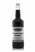 Chocolate Covered Strawberry Shaved Ice and Snow Cone Syrup - Quart