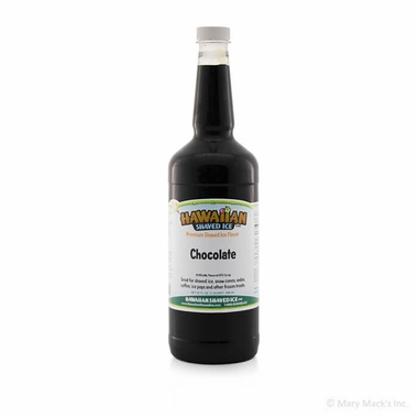 Chocolate Shaved Ice and Snow Cone Syrup - Quart