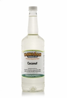 Coconut Shaved Ice and Snow Cone Syrup - Quart