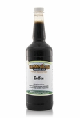 Coffee Shaved Ice and Snow Cone Syrup - Quart