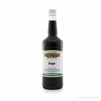 Grape Shaved Ice and Snow Cone Syrup - Quart
