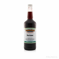 Hurricane Shaved Ice and Snow Cone Syrup - Quart