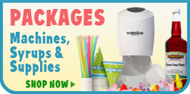 Shaved Ice & Snow Cone Supplies