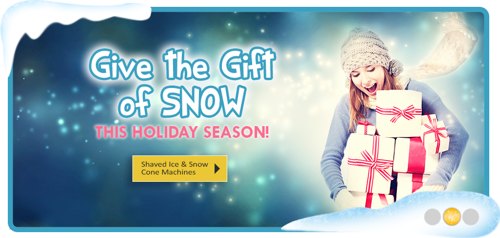 Give the Gift of Snow This Holiday Season!