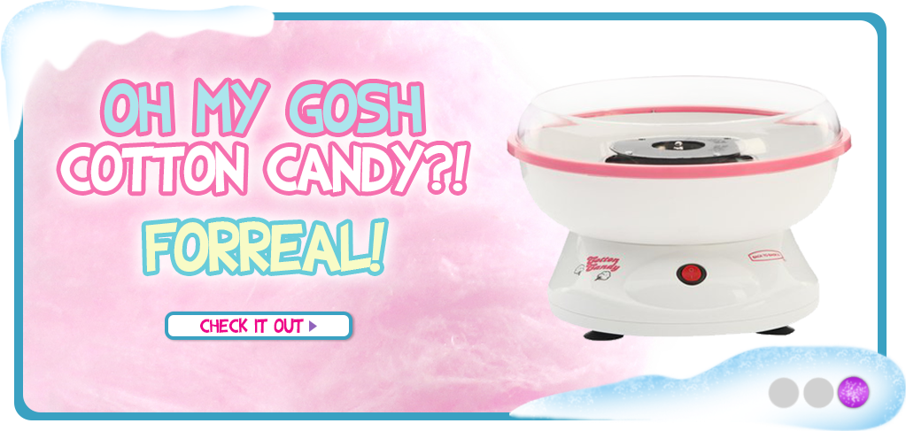 Cotton Candy Machine & Floss Sugar