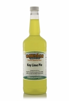 Key Lime Pie Shaved Ice and Snow Cone Syrup - Quart