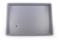Large Heavy-Duty Drip Pan for Professional Hawaiian Shaved Ice Machines