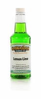 Lemon-Lime Shaved Ice and Snow Cone Syrup - Pint