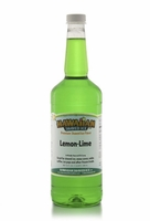Lemon-Lime Shaved Ice and Snow Cone Syrup - Quart