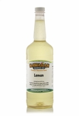 Lemon Shaved Ice and Snow Cone Syrup - Quart