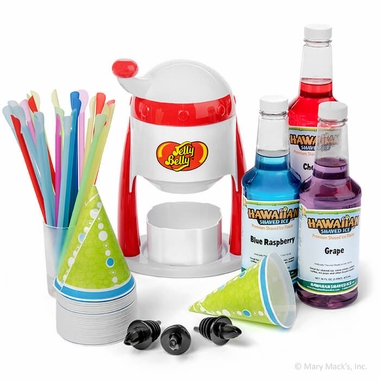 Shaved Ice Party Package with Manual Shaved Ice Machine