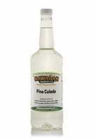 Pina Colada Shaved Ice and Snow Cone Syrup - Quart