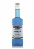 Polar Punch Shaved Ice and Snow Cone Syrup - Quart