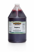 Raspberry Shaved Ice and Snow Cone Syrup - Gallon