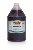 Red Velvet Shaved Ice and Snow Cone Syrup - Gallon