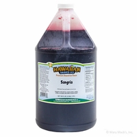 Sangria Shaved Ice and Snow Cone Syrup - Gallon