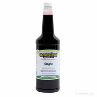 Sangria Shaved Ice and Snow Cone Syrup - Quart