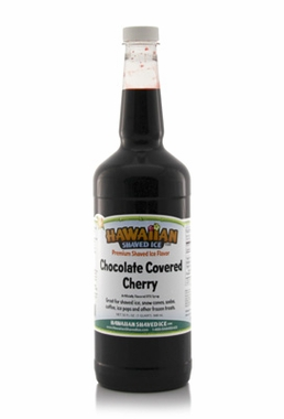 Shaved Ice Quart Size Syrup of the Month � Chocolate Covered Cherry