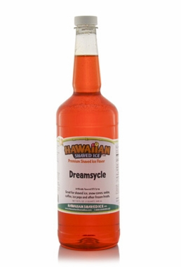Shaved Ice Quart Size Syrup of the Month � Dreamsycle