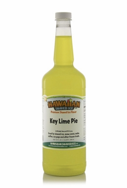Shaved Ice Quart Size Syrup of the Month � Key Lime Pie