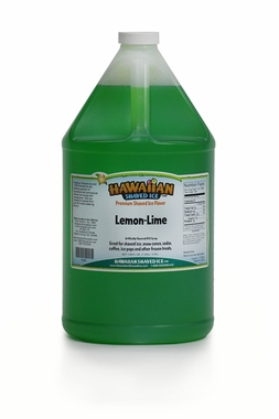 Shaved Ice Gallon Size Syrup of the Month – Lemon Lime