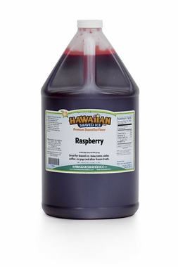 Shaved Ice Gallon Size Syrup of the Month – Raspberry