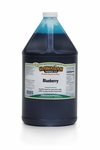 Shaved Ice Gallon Size Syrup of the Month � Blueberry