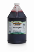 Shaved Ice Gallon Size Syrup of the Month � Strawberry-Kiwi