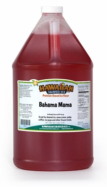Shaved Ice Gallon Size Syrup of the Month � Bahama Mama