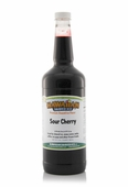 Sour Cherry Shaved Ice and Snow Cone Syrup - Quart