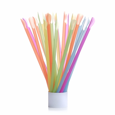 Spoon-Straws in 25-Count Packages